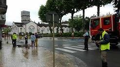 Inondations à Salies