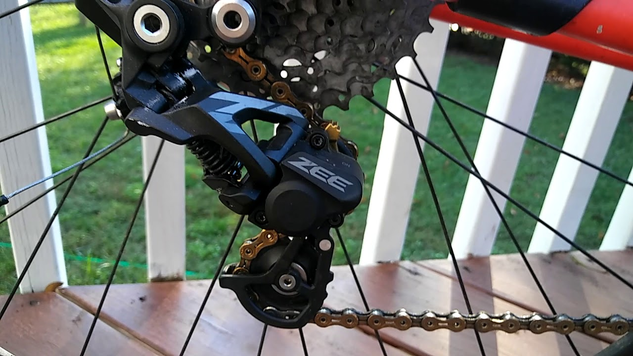 Shimano ZEE rear derailleur and shifter review