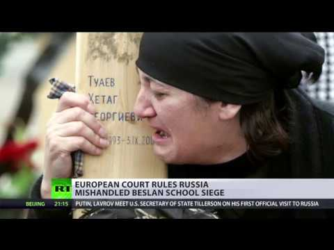 Beslan school siege: Moscow slams ECHR's claim that more lives could be saved