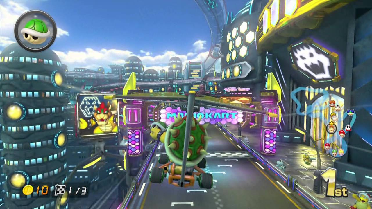 Mario Kart 8 Neo Bowser City