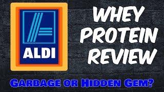 ALDI Whey Protein Supplement Review - Trash or Hidden Gem?