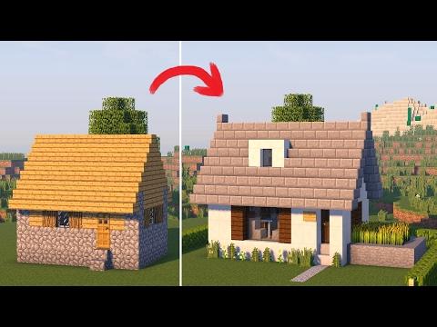 Minecraft - Постройки - Дом в стиле Модерн.