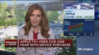 Apple TV+ to cost $4.99/month