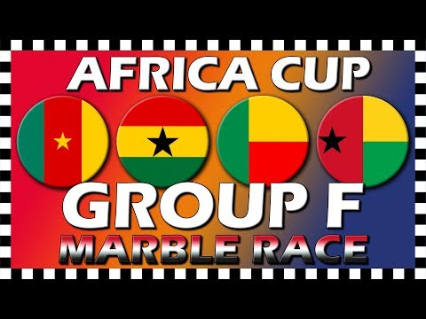 Africa Cup of Nations 2019 - Group F - Marble Race - Algodoo