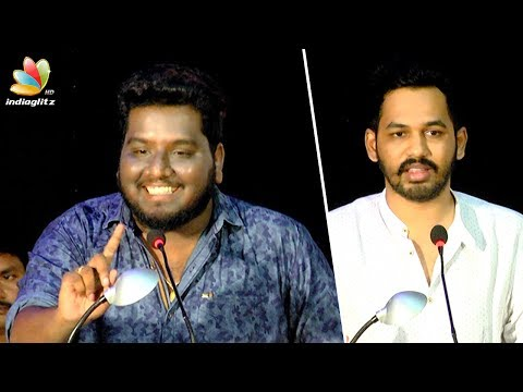 Smile Settai RJ Vignesh Comedy Speech At Meesaya Murukku Audio Launch | Hip Hop Aadhi