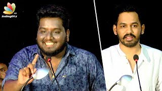 Smile Settai RJ Vignesh comedy speech at Meesaya Murukku Audio Launch | Hip Hop Aadhi