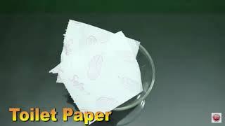 No Glue Toilet Paper Slime DIY