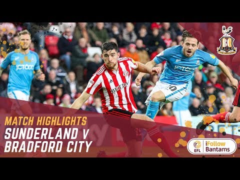 MATCH HIGHLIGHTS: Sunderland 1-0 Bradford City