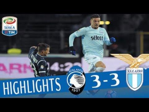 Atalanta - Lazio 3-3 - Highlights - Giornata 17 - Serie A TIM 2017/18