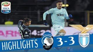 Atalanta - Lazio 3-3 - Highlights - Giornata 17 - Serie A TIM 2017/18 streaming