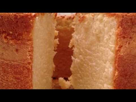 Recipe: Buttermilk Pound Cake II