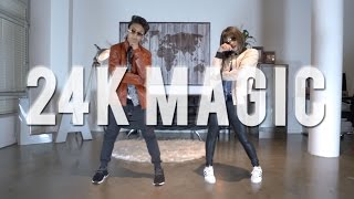 """24K MAGIC"" - Bruno Mars Dance ft Kenneth & Bailey"