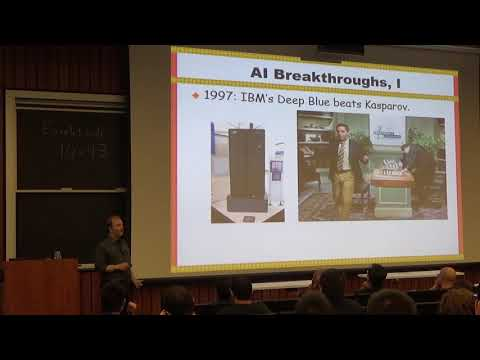 Humans, machines, and work: the future is now - Moshe Vardi, Rice University