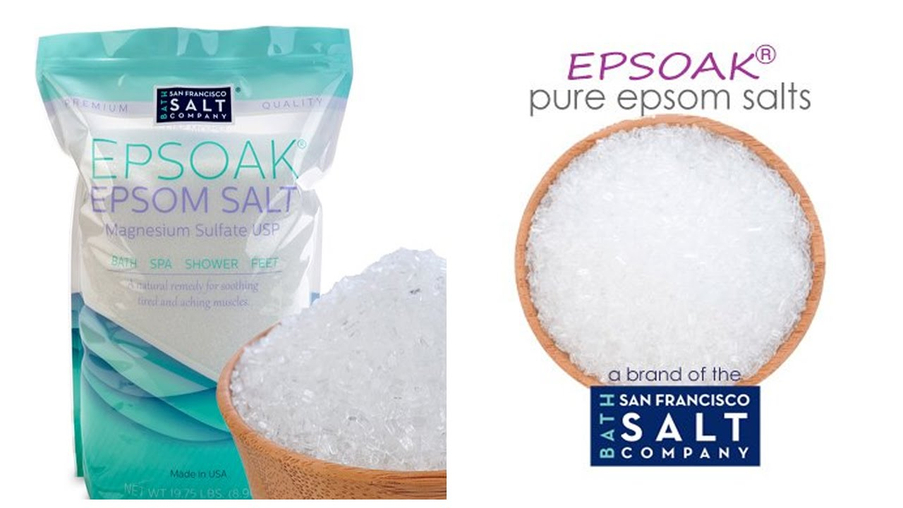 Epsoak Epsom Salt foot bath Review ******** - YouTube