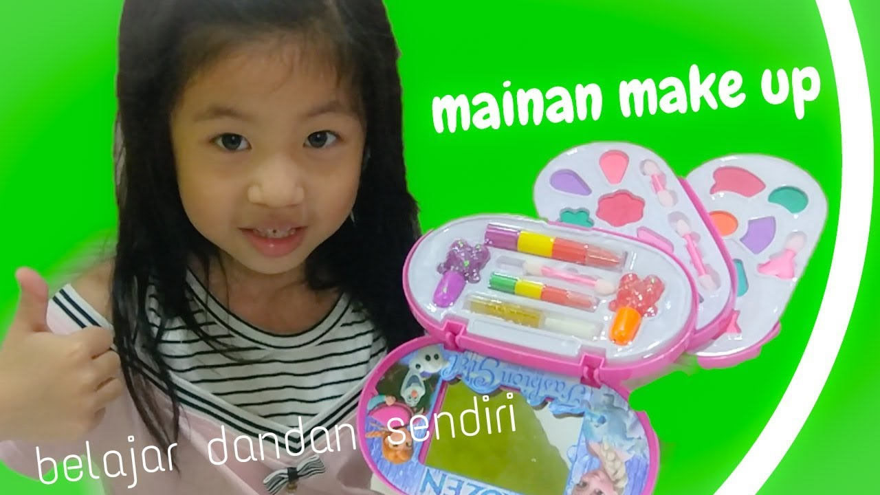 Mainan Make Up Ada Kutek Kuku Nya Juga Ii Make Up Challenge Ii Unboxing Mainan Anak Make Up Frozen Youtube