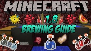 Minecraft 1.10+ Brewing | How to Make Every Potion in Minecraft