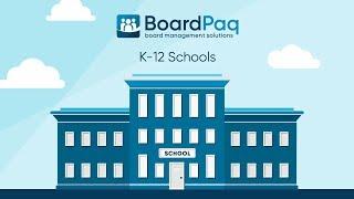 Board Portal for K-12 Schools