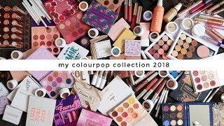 MY COLOURPOP COLLECTION ⋆ 2018 EDITION