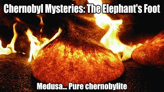"Chernobyl Mysteries: The Elephant's Foot (aka ""Medusa""... Pure chernobylite)"