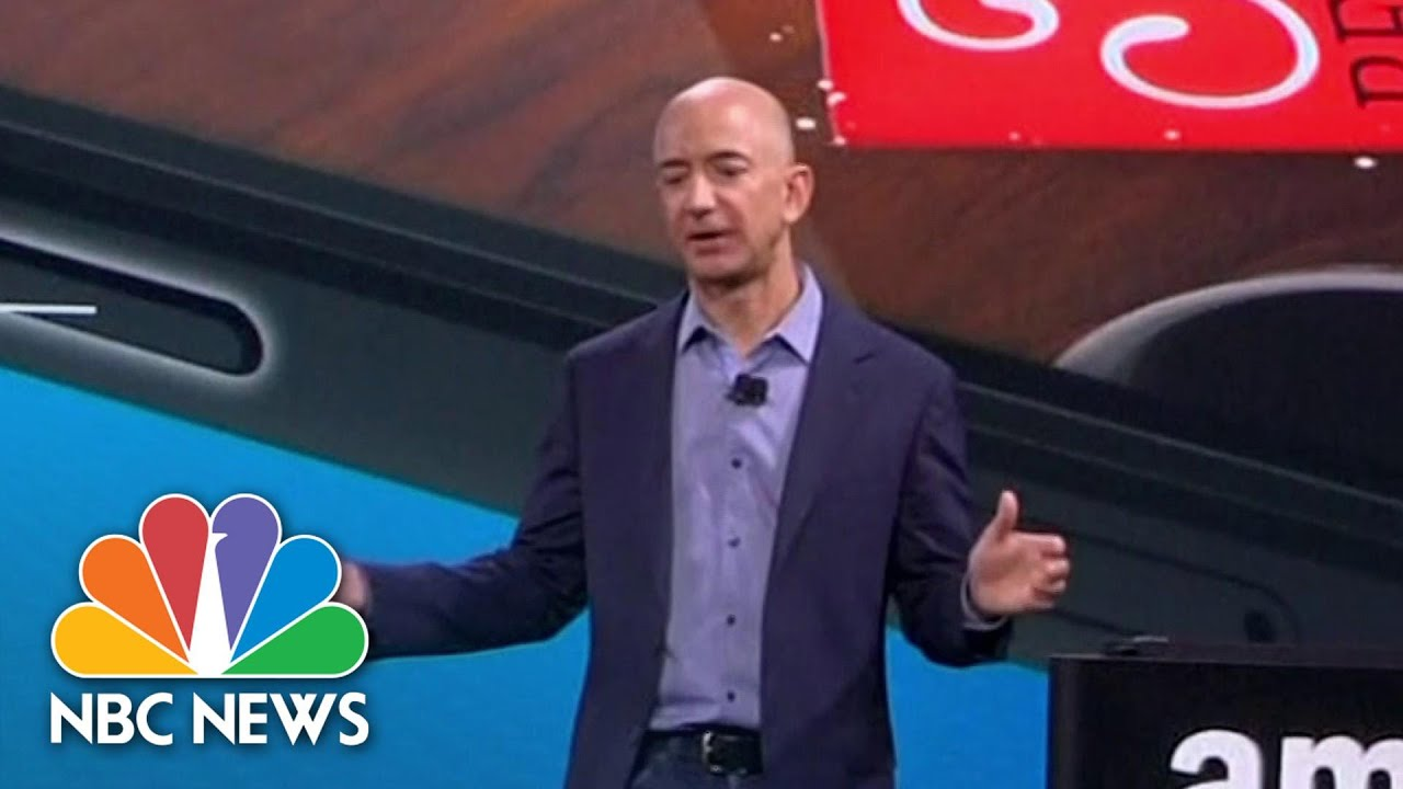 Jeff Bezos To Step Down As Amazon CEO | NBC News NOW