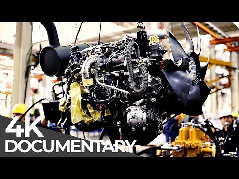 Excavator Factory | Mega Manufacturing | Free Documentary