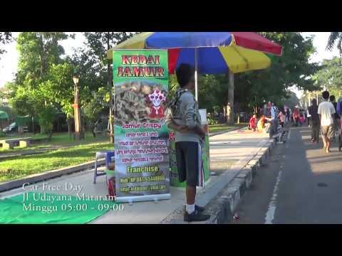 Car Free Day: Jalan Udayana Mataram, Lombok