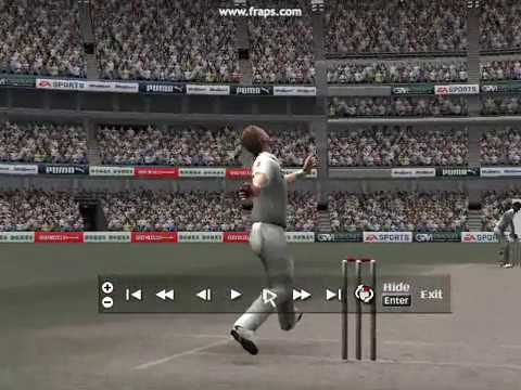 Cricket 07- High Detailed Replay