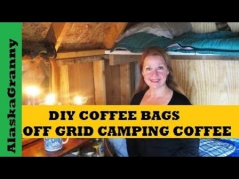 "These DIY Coffee ""Pods"" Make Campfire Coffee or Brewing on the Go Easy"
