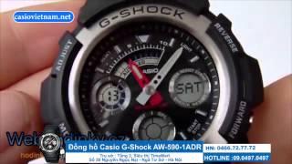 đồng hồ g shock gi rẻ aw 590 1adr siu bền bỉ