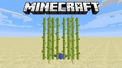 Minecraft Analyse : Zuckerrohr