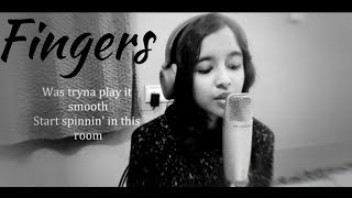 ZAYN Fingers COVER female version with lyrics (INDIAN VERSION) by Saarika