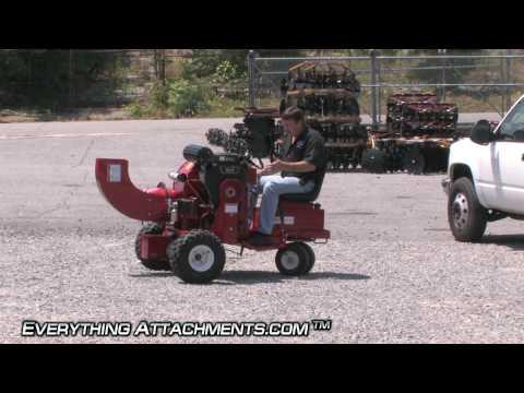 Ride On Leaf Blower - Self Propelled