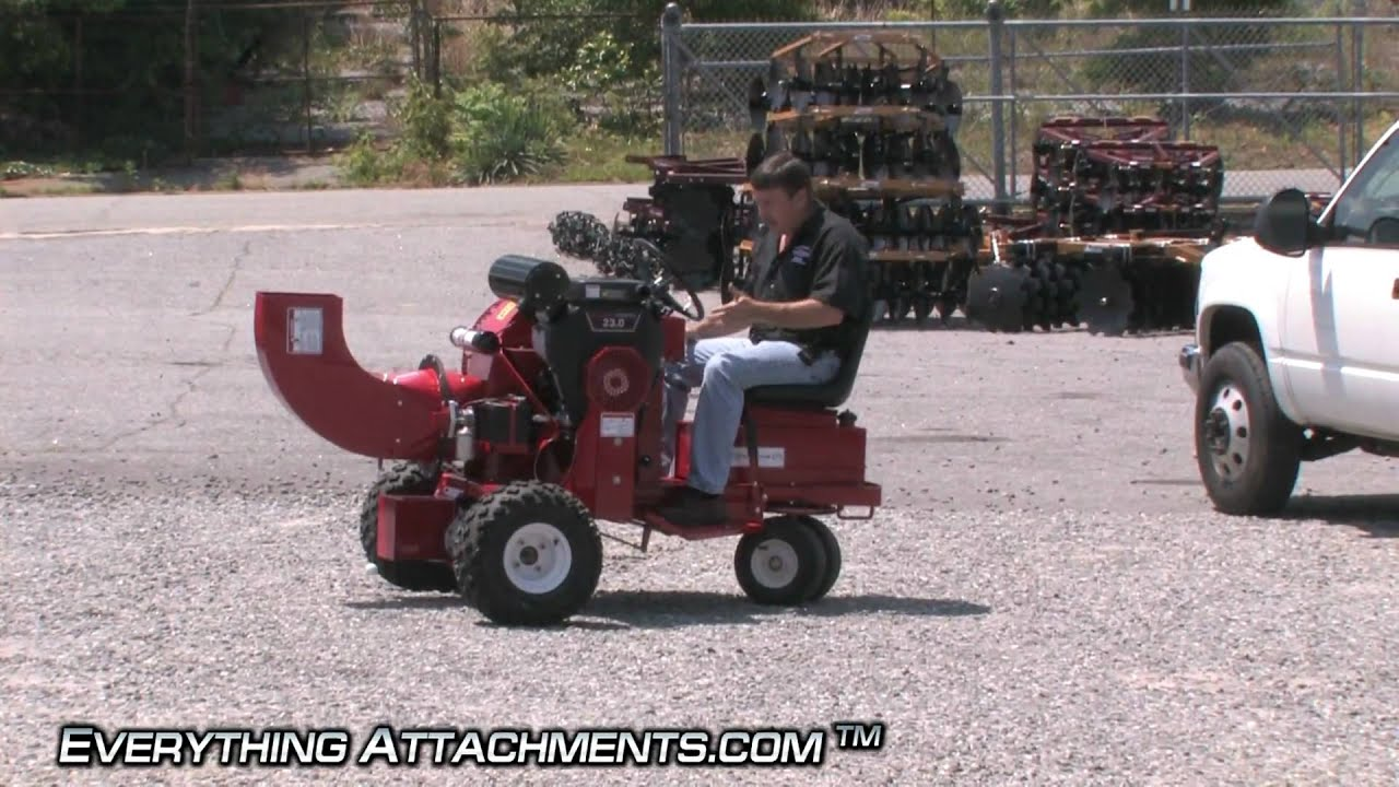 Ride On Leaf Blower Self Propelled Youtube