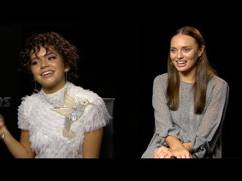 7 Questions With… Transformers Stars Laura Haddock and Isabela Moner