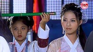 Hoàng Sam Nữ Tử Bí Ẩn Xuất Hiện Cầm Đà Cầu Bổng Phát Cứu Cái Bang | Ỷ Thiên Đồ Long Ký | Tam Mỹ Nhân