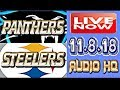 PANTHERS vs STEELERS Live Now Week 10 Score