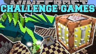 Minecraft: FLYING NAGA CHALLENGE GAMES - Lucky Block Mod - Modded Mini-Game