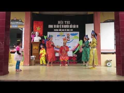Trường mầm non xã Hùng Sơn tổ chức hội thi chung tay bảo vệ tài nguyên môi trưởng Biển đảo Việt Nam