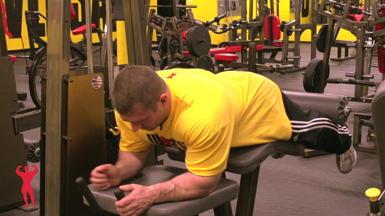 Watch How to Execute a Leg Curl video