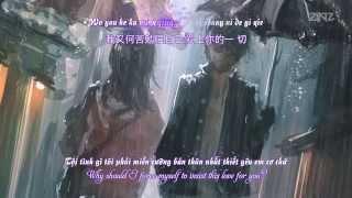 [Eng - Trung - Kara - Vietsub] Si Tâm Tuyệt Đối (Vì Còn Yêu Em) - Lý Thánh Kiệt