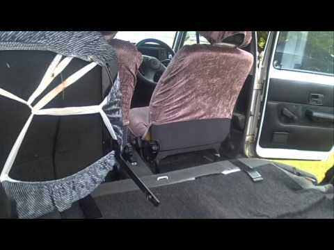 vw golf mk rear seat removal youtube