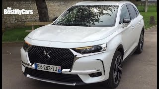 Citroen Ds7 driving experience-DS7 test drive-DS7 Crossback -French President Car