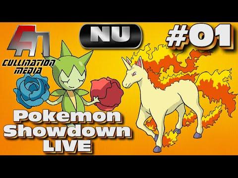 Pokemon Showdown Live: Roselia and Rapidash: Gallops of Beauty: Part 01