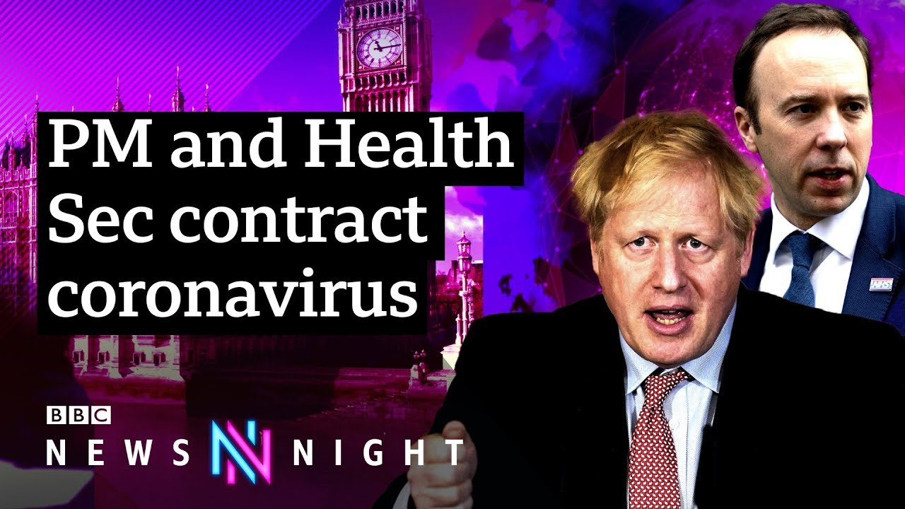 UK PM Boris Johnson tests positive for coronavirus – BBC Newsnight