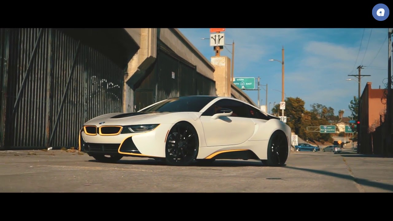 Bmw I8 Fitted 22 Inch Staggered Bd11 S In A Gloss Black Blaque