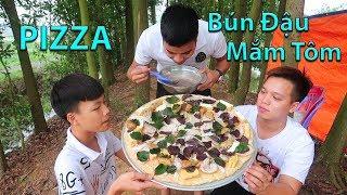 Hữu Bộ | Làm Chiếc PIZZA Bún Đậu Mắm Tôm Khổng Lồ Kinh Dị Nhất Việt Nam