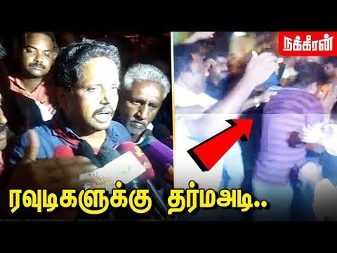 அறைக்குள் நுழைந்த பெண் அதிகாரி யார்? S. Venkatesan at Madurai counting centre | ADMK | communist