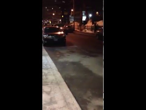 Taxi Robbery In Downtown Montreal