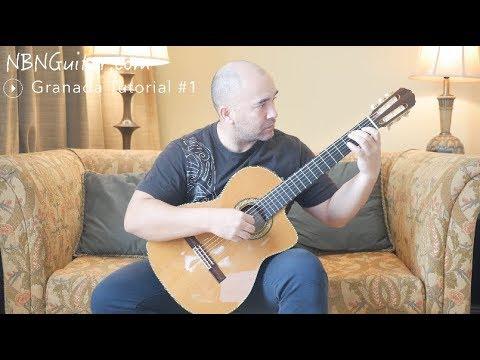 Granada 'Serenata' | Classical Guitar Lesson #1 | Free Tabs | Isaac Albeniz