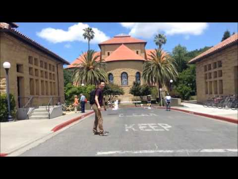 Riding Around Stanford Campus Looking for Hot Chicks; Palo Alto; California